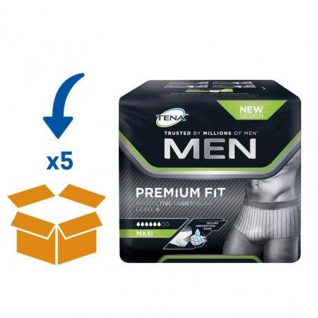 TENA Men Premium Fit Level 4 - L   5 pakken van 10 stuks