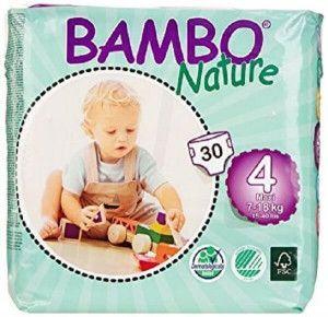 Abena Bambo Nature Maxi 4 - 30 Stuks - 7 tot 18 kg