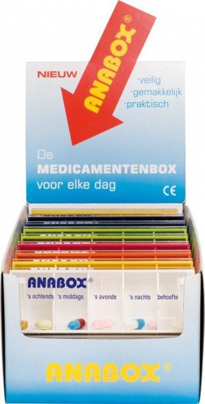 Anabox Dagbox Display - 16 Stuks