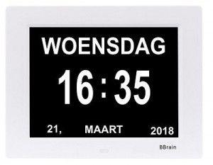 Digitale Kalenderklok - Scherm 1 - small