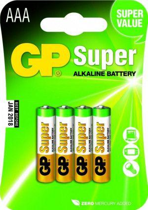 Super Alkaline AAA Batterijen