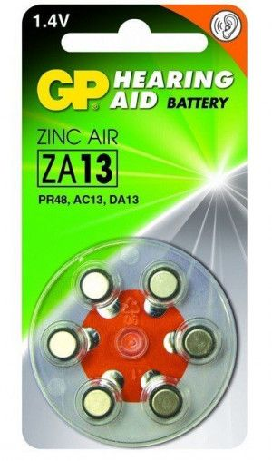 GP Zinc Air Hoorapparaat Batterijen ZA13
