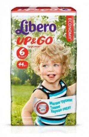 Libero Luierbroek Up & Go 6 - 20 Stuks - 13 tot 20 k