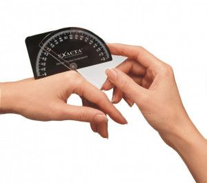 Devore pocket vinger goniometer