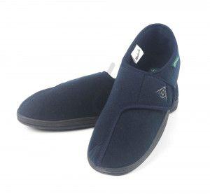 Dunlop Pantoffels Heren Arthur - Blauw set