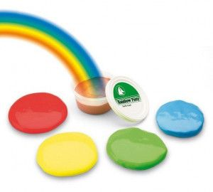 Rainbow Putty medium