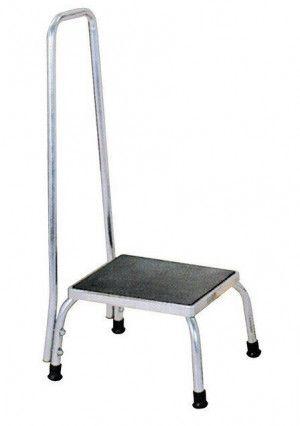 Opstapje/voetstoel Handleuning