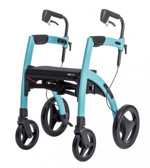 Rollz Motion IJsblauw - rollator