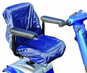 Splash zittingbeschermer voor scootmobiel