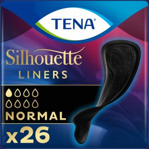 TENA Silhouette Normal Noir Inlegkruisjes - 26 stuks HERO
