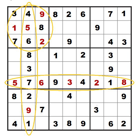 Sudoku puzzel voor ouderen voorbeeld