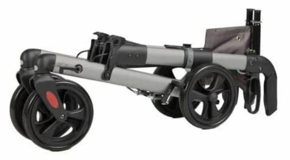 Track Rollator 4.0 dubbel opgevouwen